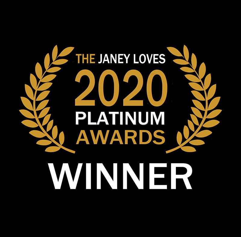 Janey Loves 2020 Platinum Winner